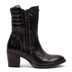 Bed Stu Onrush Almond Toe Ankle Boots
